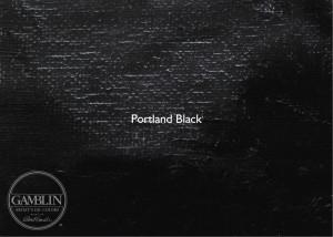 Черный портландский. Краска для глубокой печати Gamblin Etching Ink