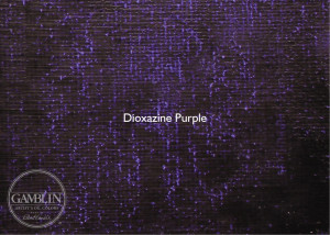 Фиолетовый диоксазин. Краска для глубокой печати Gamblin Etching Ink
