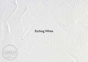 Белила офортные. Краска для глубокой печати Gamblin Etching Ink