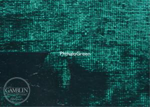 Зеленый фтало. Краска для высокой печати Gamblin Relief Ink
