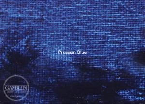 Синяя прусская. Краска для высокой печати Gamblin Relief Ink