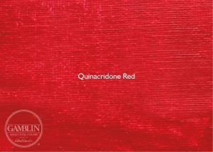 Красный квинакридон. Краска для высокой печати Gamblin Relief Ink