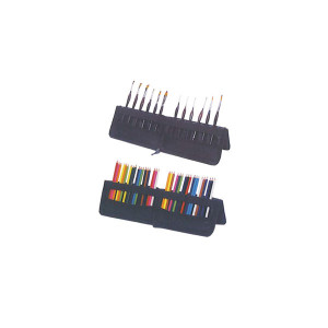 Пенал для кистей и карандашей -  стойка  17,5 * 36,5 см