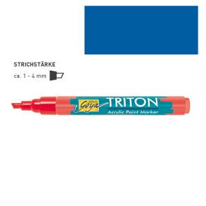 """КОБАЛЬТОВЫЙ СИНИЙ акриловый маркер """"Solo Goya"""" Triton"""" 1-4 мм"""