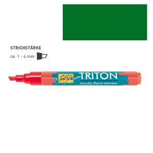 """ЗЕЛЕНЫЙ ЛИСТВЕННЫЙ акриловый маркер """"Solo Goya"""" Triton"""" 1-4 мм"""