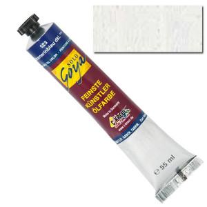 "Масляная краска ""Solo Goya"" кроющий белый 55 мл"