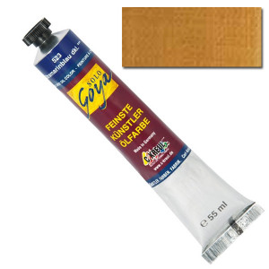 """Масляная краска """"Solo Goya"""" охра светлая желтоватая 55 мл"""