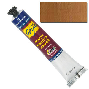 "Масляная краска ""Solo Goya"" охра золотистая 55 мл"
