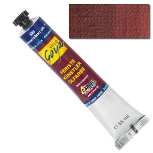 """Масляная краска """"Solo Goya"""" сиена жженая 55 мл"""