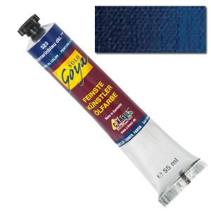 """Масляная краска """"Solo Goya"""" парижский голубой 55 мл"""