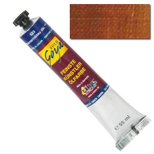 "Масляная краска ""Solo Goya"" желтовато-коричневый лак 55 мл"