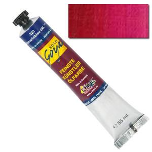 """Масляная краска """"Solo Goya"""" красный кармин 55 мл"""