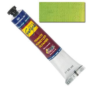 """Масляная краска """"Solo Goya"""" киноварь зеленая 55 мл"""