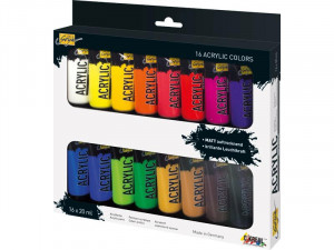 Набор акриловых красок Solo Goya Acrylic 16 цв х 20мл.