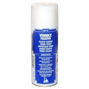 Аэрозольный фиксирующий лак UV-фильтром/Maimeri/400мл