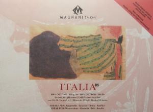 Блок ITALIA для акварели 23*31 см 300 г/м, 20 листов, 100 % хлопок