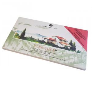Блок TOSCANA для акварели 12*23 см, 300 г/м, 20 листов, 100 % хлопок