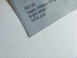 Бумага VELATA DISEGNO 120 г/м 71*101 см, белая