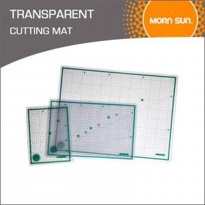 Коврик для резки самовоccтан./ прозрачный многослойн. 3 мм, 30х45 см