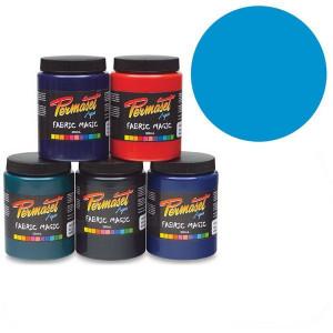 Краска для шелкографической печати Permaset / Синий светлый