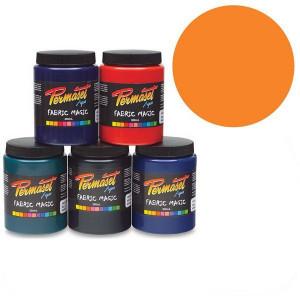 Краска для шелкографической печати Permaset / Оранжево-красный