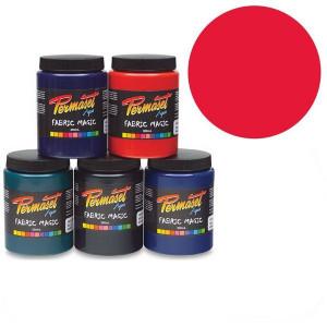 Краска для шелкографической печати Permaset / Красный яркий