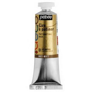 Металлическая краска-вакса Pebeo//Золото ампир/туба 37мл