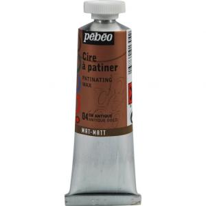 Металлическая краска-вакса Pebeo/Золото античное/туба 37мл