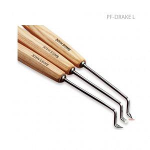 """Стамеска ступенчатая """"дракон"""" лево-скошенная Pfeil Drake L"""