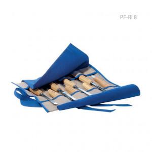 Свиток для 8 полноразмерных стамесок Pfeil