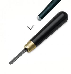 Резец по линолеуму  RGM  №2 ручка усиленная