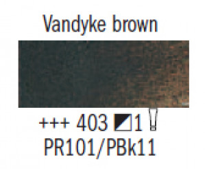 """Масл.краска """"Rembrandt"""" коричневый Ван-Дик"""