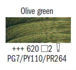 "Масл.краска ""Rembrandt"" зеленый оливковый"