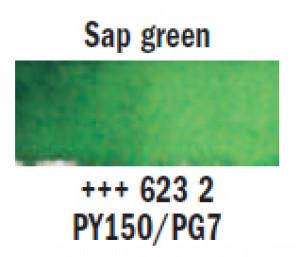 """Краска аквар.""""Рембрандт"""" / зеленый кленовый"""