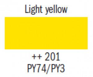 Гуашь худ. жёлтая светлая