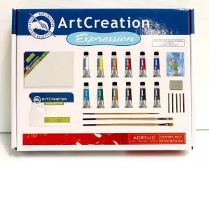 Набор акриловых красок ArtCreation Expression Шаг-за-шагом