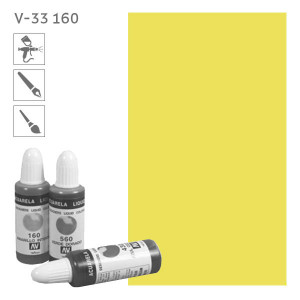 Acuarela Liquida 160  Желтый