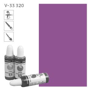 Acuarela Liquida 320  Сине- фиолетовый