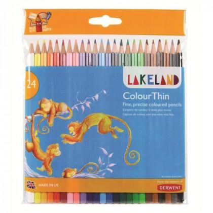 "Набор  цветн. карандашей ""Lakeland Colourthin"" /24 шт в блистере"