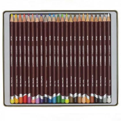 """Набор  цветных карандашей  """"Coloursoft""""  /24цв.в мет.кор."""