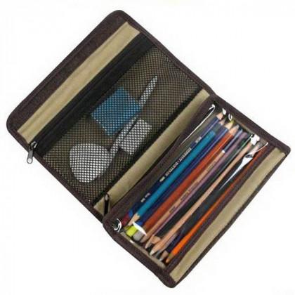 """Пенал холщевый """"Artpack"""" Derwent для карандашей, пустой"""