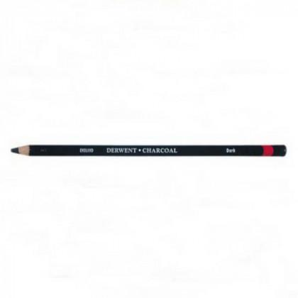 Уголь древесный в карандаше /темный