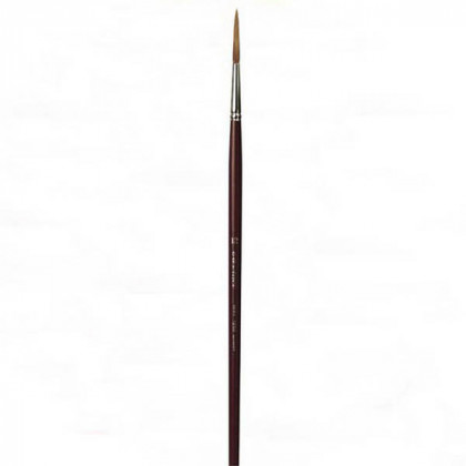 Кисть для реставрации круглая da Vinci 1250/ушной волос/удлиненная рабочая часть/острый край/№12