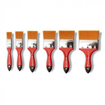 Кисть флейц Da Vinci 5080 COSMOTOP/золотистая синтетика/экстра мягкая/№150