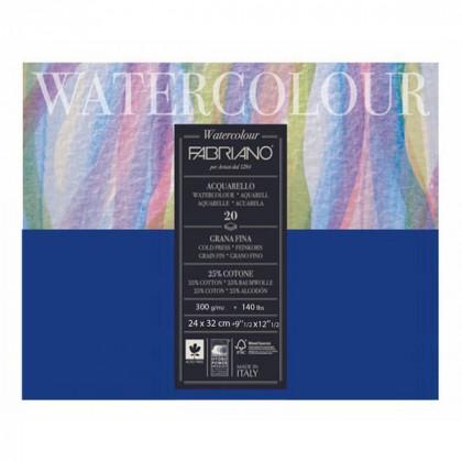 "Склейка для акварели ""Watercolour"" 24x32 см. 20л 300гр."