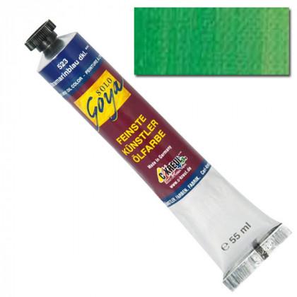 """Масляная краска """"Solo Goya"""" зеленый перманентный светлый 55 мл"""
