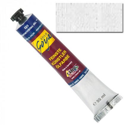 """Масляная краска """"Solo Goya"""" белила цинковые 55 мл"""