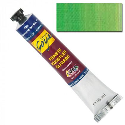 """Масляная краска """"Solo Goya"""" кадмий зеленый 55мл"""
