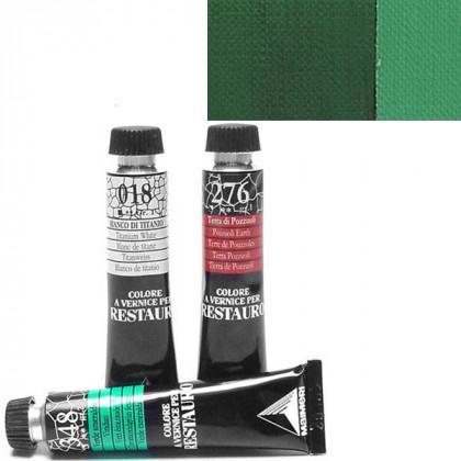 Зеленый лак/краска ретушная Maimeri Restauro Mastic
