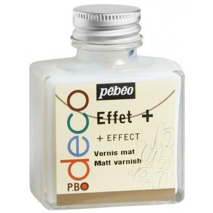 Матовый защитный водорастворимый лак/Pebeo